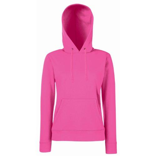 Frutta Di Orto - Hooded Sweat, Felpa unisex,  manica lunga, collo con cappuccio Pink (Fuchsia)