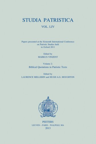 Studia Patristica. Vol. LIV - Papers Presented at the Sixteenth International Conference on Patristic Studies Held in Oxford 2011: Vol. LIV - Papers P (P Hag)