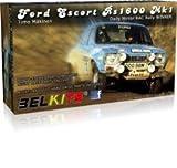 Ford Escort RS1600 Mk1 1973 RAC Rally Mäkinen 1:24 Model Kit Belkits BEL006