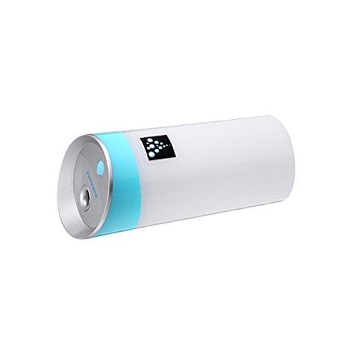 Preisvergleich Produktbild MagiDeal USB Luftbefeuchter Ultraschallbefeuchter 300ML Tragbar Wiederaufladbar für Auto Schlafzimmer Reisen - Blau