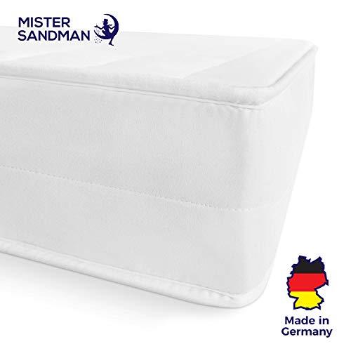 Mister Sandman Matratze, Härtegrad H2 H3, Komfortschaum Kern, Gästematratze, ÖKO-TEX® waschbar 70 x 200 cm