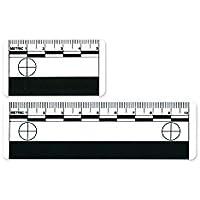 Beweisfoto Maßstab, 10er Pack weiß, 10 cm Länge (Part Number: 1005932) preisvergleich bei billige-tabletten.eu