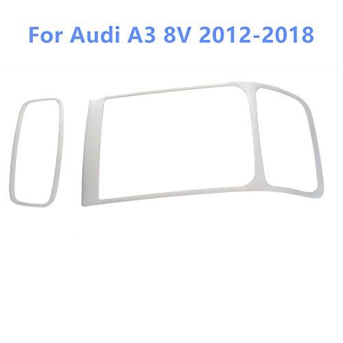 Per a3 8v 2012-2018 cover interne in acciaio inox per luci di lettura anteriore e posteriore