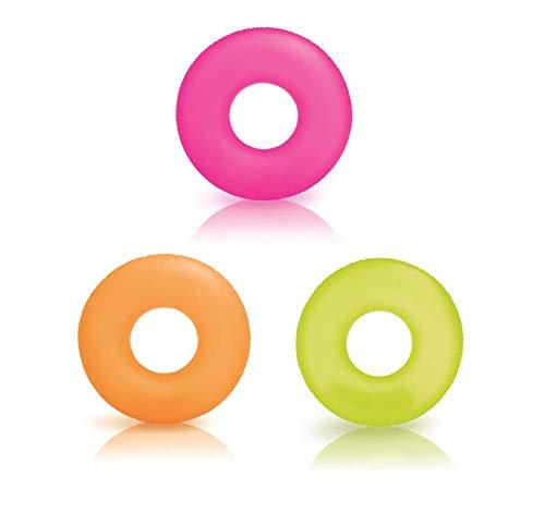 Intex 59262NP-Schwimmring Neon, 91cm, Farben Sortiert