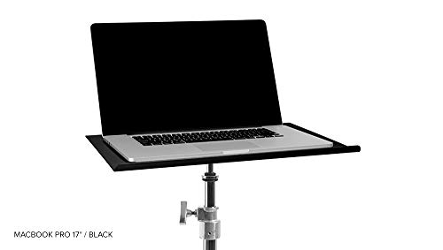 Preisvergleich Produktbild Tether Tools 17.5x11 Aero Custom Table for Macbook Pro 17,  Black by Tether Tools