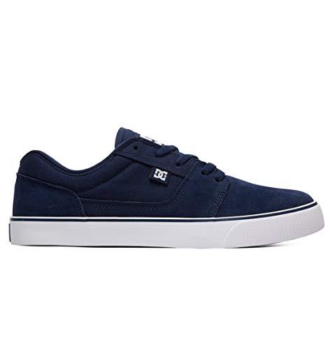 DC Shoes Tonik - Leather Shoes for Men - Schuhe - Männer - EU 45 - Blau (Dc Mens Fashion Sneaker)