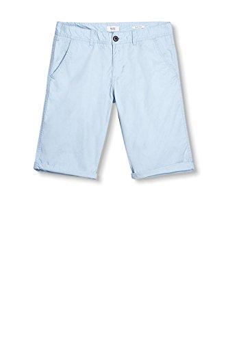 edc by ESPRIT Herren Shorts Blau (Light Blue 440)