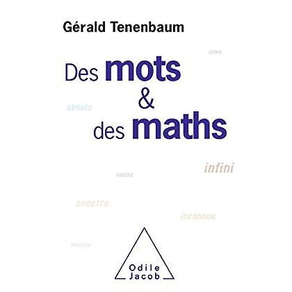 Des mots et des maths (OJ.SCIENCES)
