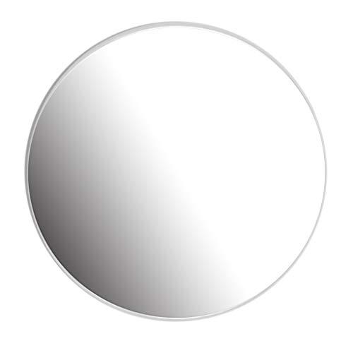 YF-Mirror 40 - Espejo Circular de 80 cm - Espejo Redondo para baño, baños, Salas de Estar y más...