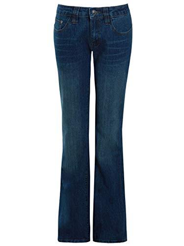 Low Rise Flare Leg Jeans (SS7 Damen Ausgestellte Jeans)