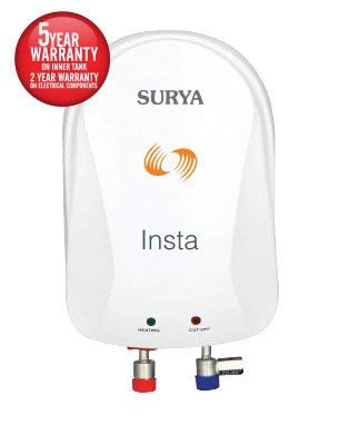 Surya Roshni ltd Copper Instant Water Heater (3 L)