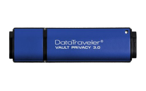 Kingston DTVP30 4GB Speicherstick USB 3.0, blau (Memory-stick-kreuz)