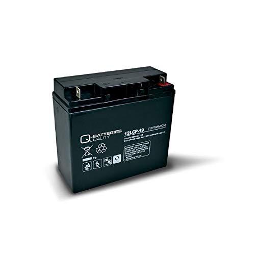 12V 19Ah kompatibler Akku FIAMM ECOFORCE F19-12B Ersatz Batterie wiederaufladbar