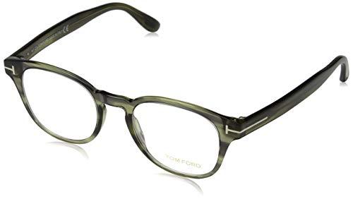 Tom Ford Herren Ft5400 Brillengestelle, Grün (Verde Scuro/ALTRO), 48