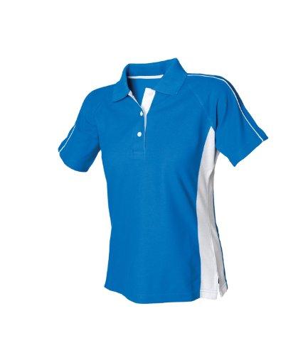 Finden & Hales - Polo -  Femme Blau - Royal Blue / White