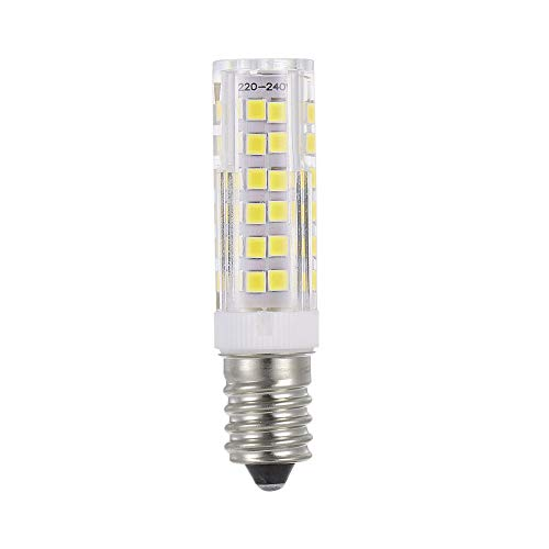 Ein Licht Halogen-anhänger (Festnight Mini E14 LED Lampe 5W 220V LED Maisbirne 2835 Perlen 360 Grad Abstrahlwinkel Ersetzen Lampada Halogen Kronleuchter Lichter Anhänger Kühlschrank Dekorieren Lampe)