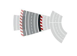 Carrera - Borde Interior Curva 3/30°, 6 Piezas y terminales, 2 Piezas (20020592)