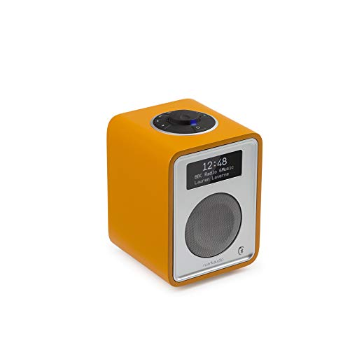 Ruark Audio R1 MK3 Tischradio AUX Bluetooth (A2DP) DAB+ UKW FM - Burnt Saffron | Limited Edition