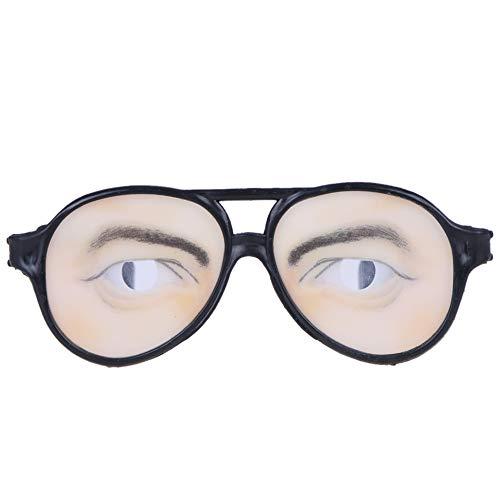 Bluelover Halloween Kostüm Party Aprilscherz Brillen Spielzeug Lustige Brille Maske Maskerade Cosplay Makeup Brille Lustige Kostüm Brille Spielzeug Halloween Party Prop Gag Geschenk - Männer
