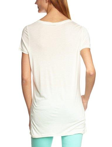 VERO MODA Damen T-Shirt JOY SS TOP Weiß (Snow White)