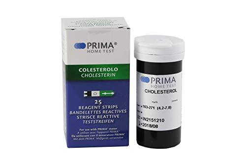 PRIMA 3-2 in 1 - Cholesterin Test - 25 Streifen