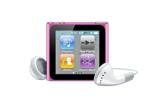 Apple MC692HN/A 8GB iPod Nano (Pink)