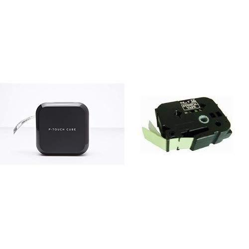 Pack - Brother PT-P710BT P-Touch Cube - Connectable PC et Bluetooth + Brother TZe-151 | Cassette à...