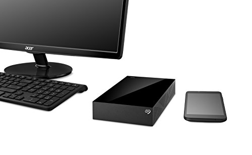 Seagate STDT6000100 6TB External Hard Disk Black Price in India