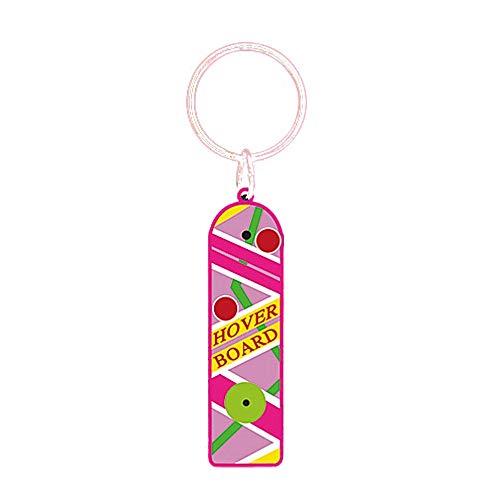 Pritties Accessories Echte Universal Zurück in die Zukunft II Hoverboard Gummi Schlüsselanhänger Schlüsselanhänger