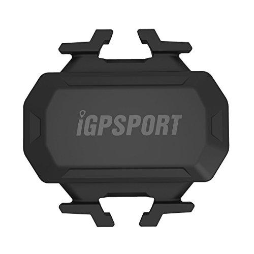 iGPSPORT C61 (Versión Española) - Sensor de Cadencia inalámbrico Ant+/2.4G y Bluetooth 4.0 Ciclismo y Bicicleta. Compatible con Ciclo computadores GPS Garmin, Bryton, Sigma. IPX7. Sin imanes