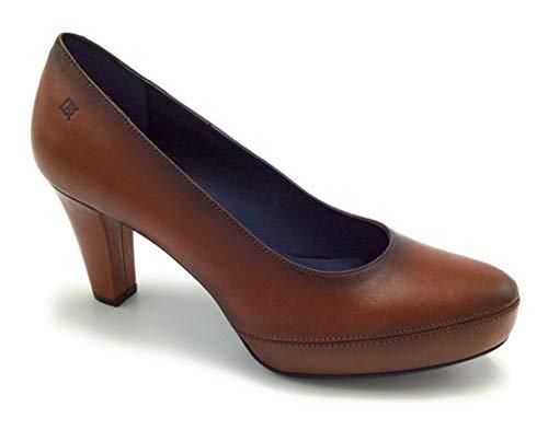 Dorking - Zapato salón tacón Mujer - Marrón, 37