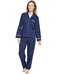 Cyberjammies 1294 Womens Nora Rose Adele Blue Tile Pyjama Set