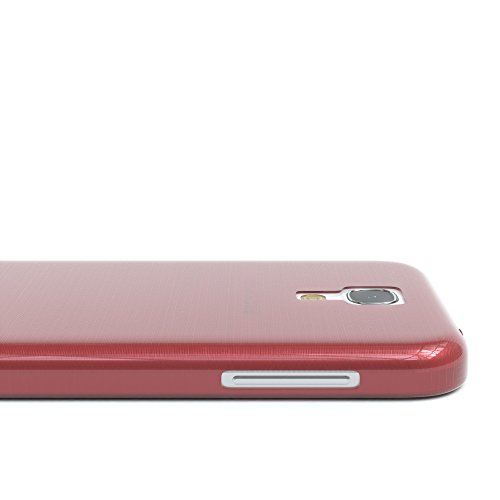 Samsung Galaxy S4 Mini Hülle - EAZY CASE Ultra Slim Cover TPU Handyhülle Matt - dünne Schutzhülle aus Silikon in Grün Brushed Rosa