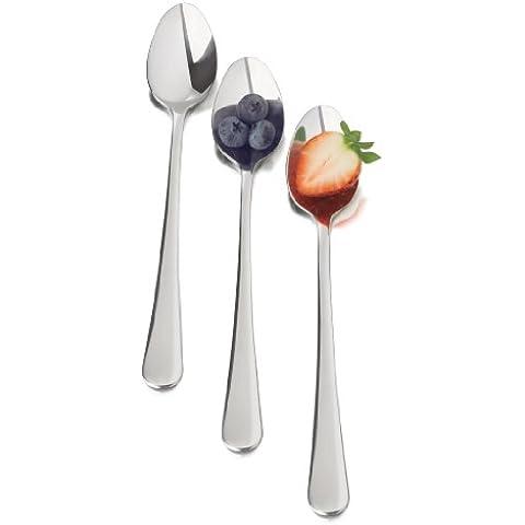 Libbey 6 Shoppe stilografica bar Spoon (cucchiai da cocktail): 7,7 cm