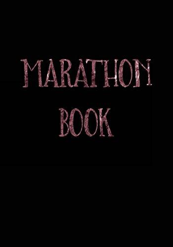 Marathon Book: Race Keepsake Notebook Diary por Dartan Creations