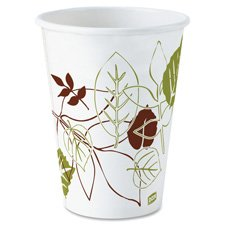 dixie-hot-cups-polylined-8oz-25-pk-pathways-white-sold-as-1-package-dxe2338wspk