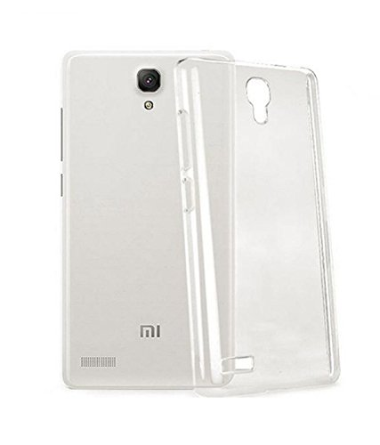 Scudomax Exclusive Soft Silicone TPU Jelly Back Case INopCover For Xiaomi Mi Redmi Note Prime - Transparent