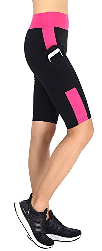 Munvot® Damen Hohe Taille Sport Leggings - Tummy Control - Blickdichte Sporthosen Super für Fitness, Laufen, Yoga, Workout etc. (Dance Leg Wide Pants)