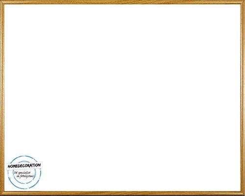 Amsterdam Bilderrahmen Posterrahmen Buche Decor 60 x 90 cm hochwertiger Kunststoff mit unzerbrechlichem glasklarem APET Kunstglas UV beständig 90 x 60 cm