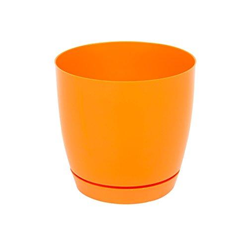 Pot De Fleur Ceramique Baril Avec Support Soucoupe Hauteur 15 Cm