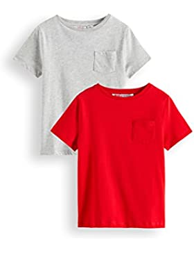 RED WAGON Camiseta para Niños Pack x 2