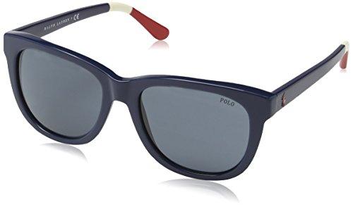 Polo Ralph Lauren PH4105, Occhiali da Sole Uomo, Blu (Blue 556987), Taglia Unica (Taglia Produttore: One Size)