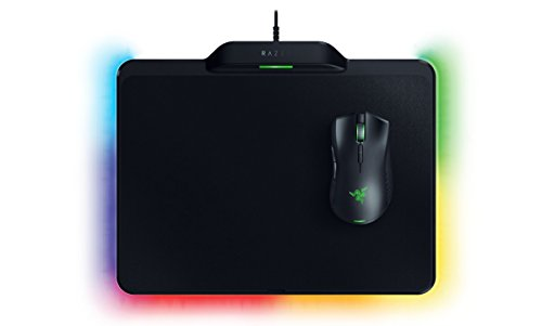 Razer Mamba HyperFlux und Firefly Gaming Maus Bundle schwarz (Wireless-gaming-maus Razer)