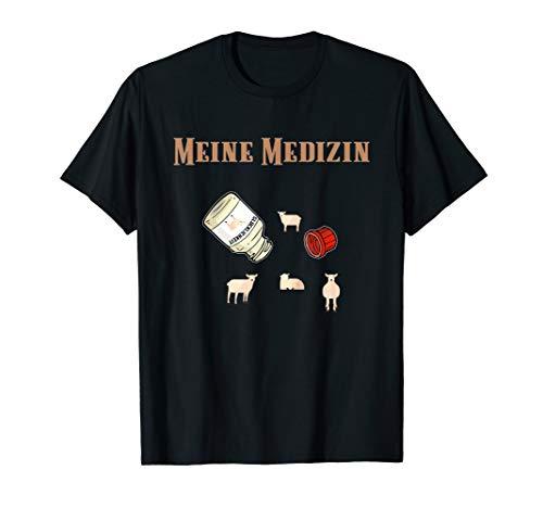 Schaf Kostüm Bauer Hammel Schafbock Lamm Landwirt Spruch Fun T-Shirt