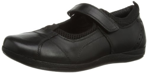 Hush Puppies Mädchen Cindy Junior Mary Jane Halbschuhe, Schwarz, 32 EU Single Strap Mary Jane