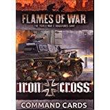 Unbekannt Flames of War: Mid War: German: Iron Cross Command Cards (FW247C) -