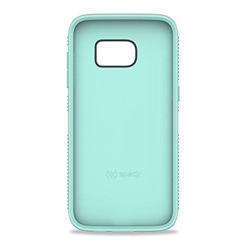 Speck Grip CandyShell harte Schutzhülle für Samsung Galaxy S7 schwarz/slate grau sand grau/aloe grün