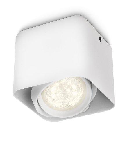 Philips myLiving Afzelia - Foco de techo, LED, 1 luz, iluminación interior,...