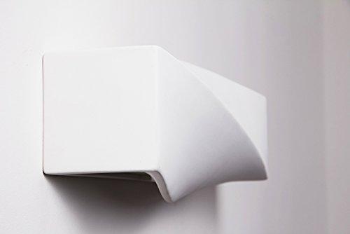 Applique da parete interni design elegante applique moderna bianca