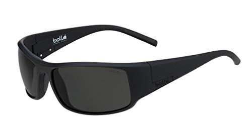 Bollé King Sonnenbrillen Matte Black Large Unisex- Erwachsene